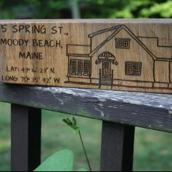  Personalized Sign - LARGE-LONG Rustic Wood